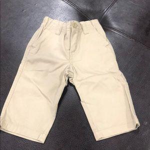Baby boy size 12-18 khaki pants